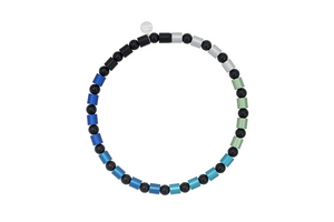 Transcend Necklace in cool colours
