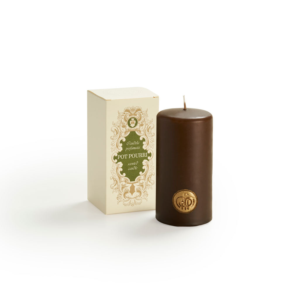 Pot Pourri Scented Candle