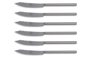 6 piece Stainless Steel Pizza Knife Set