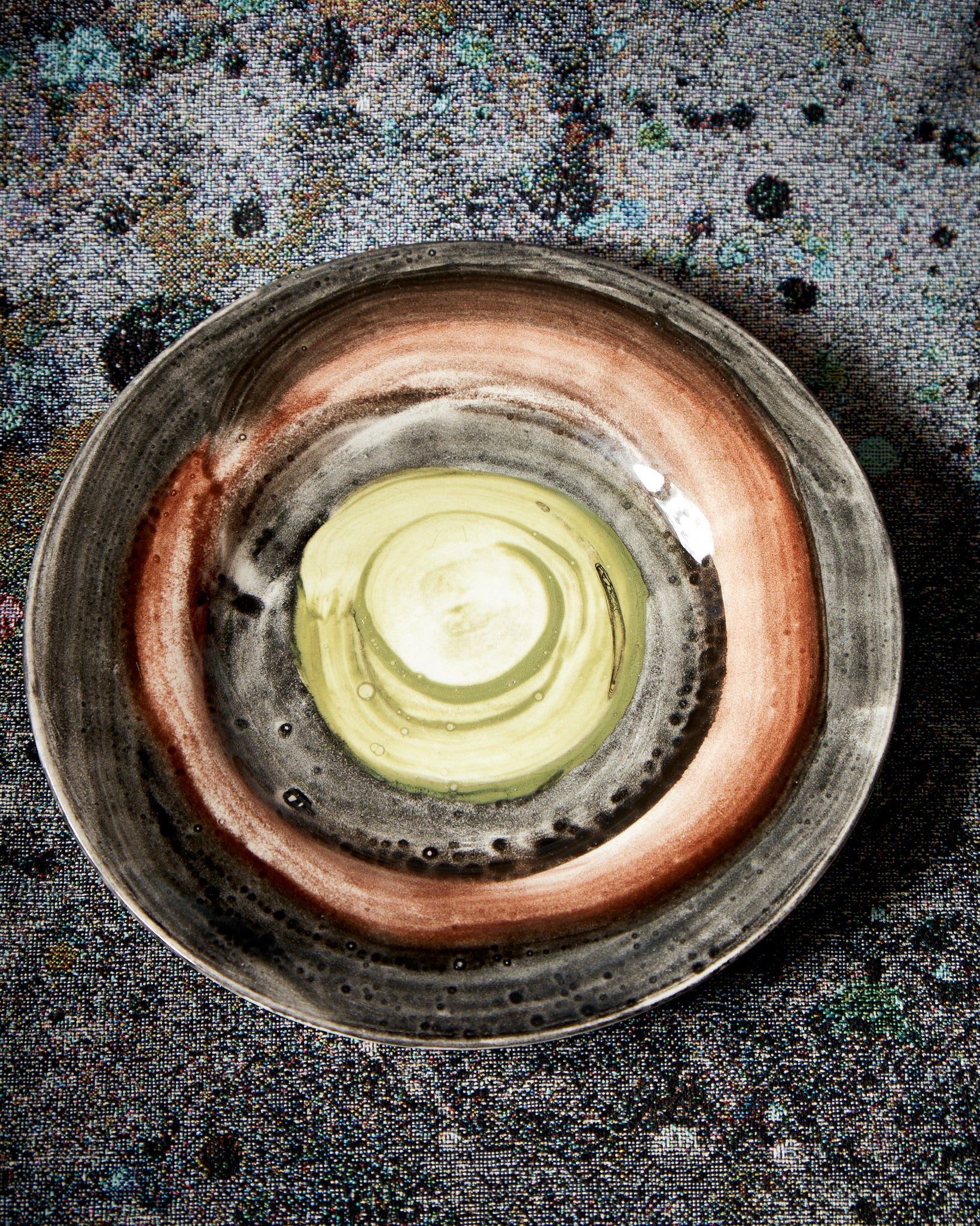 The Art Of Dining, Small Ceramic Plate, Design 6, Ø18cm