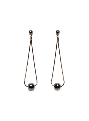 Dark Drop Earrings