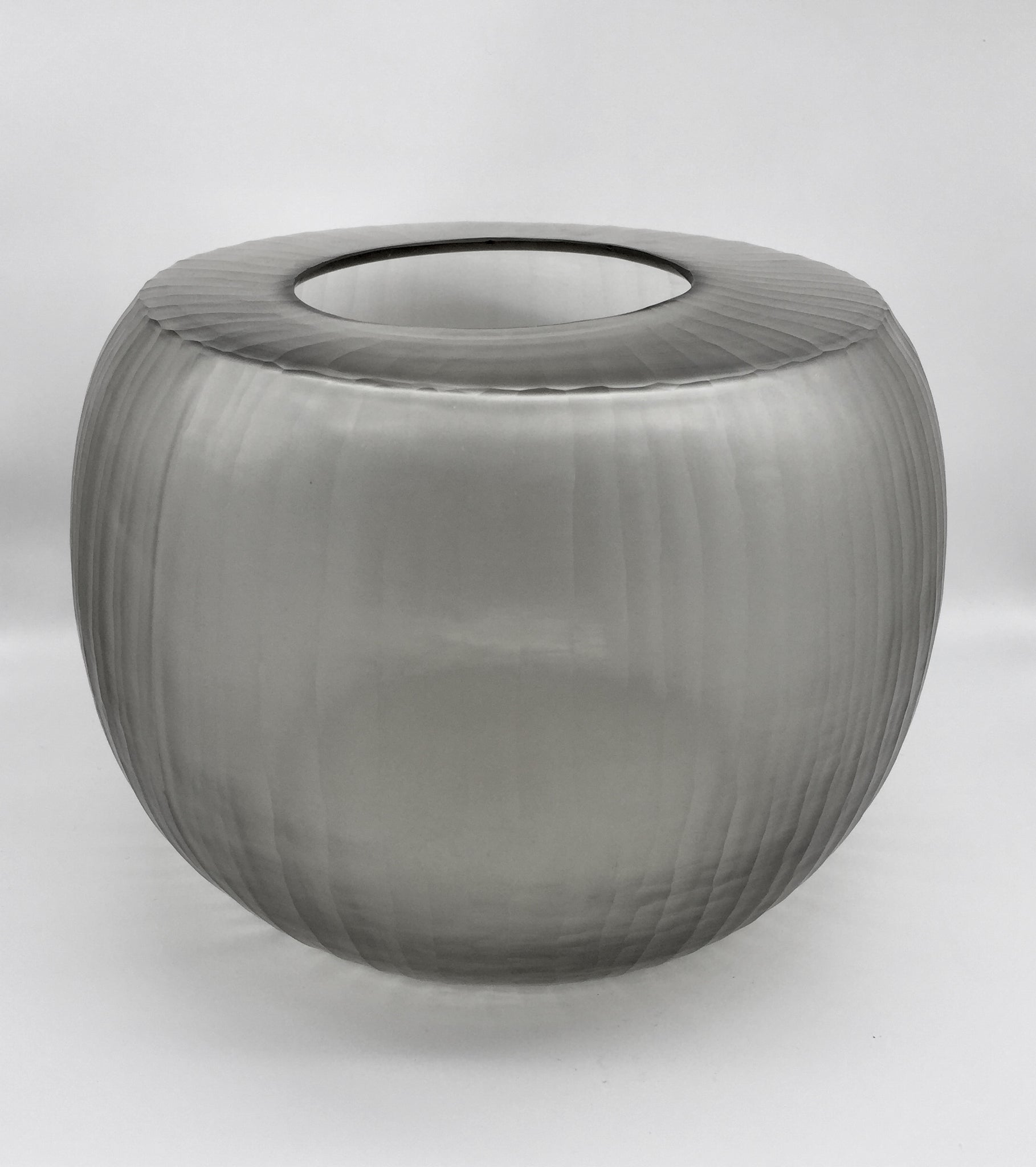 Madras Large Vase - Smokey Grey
