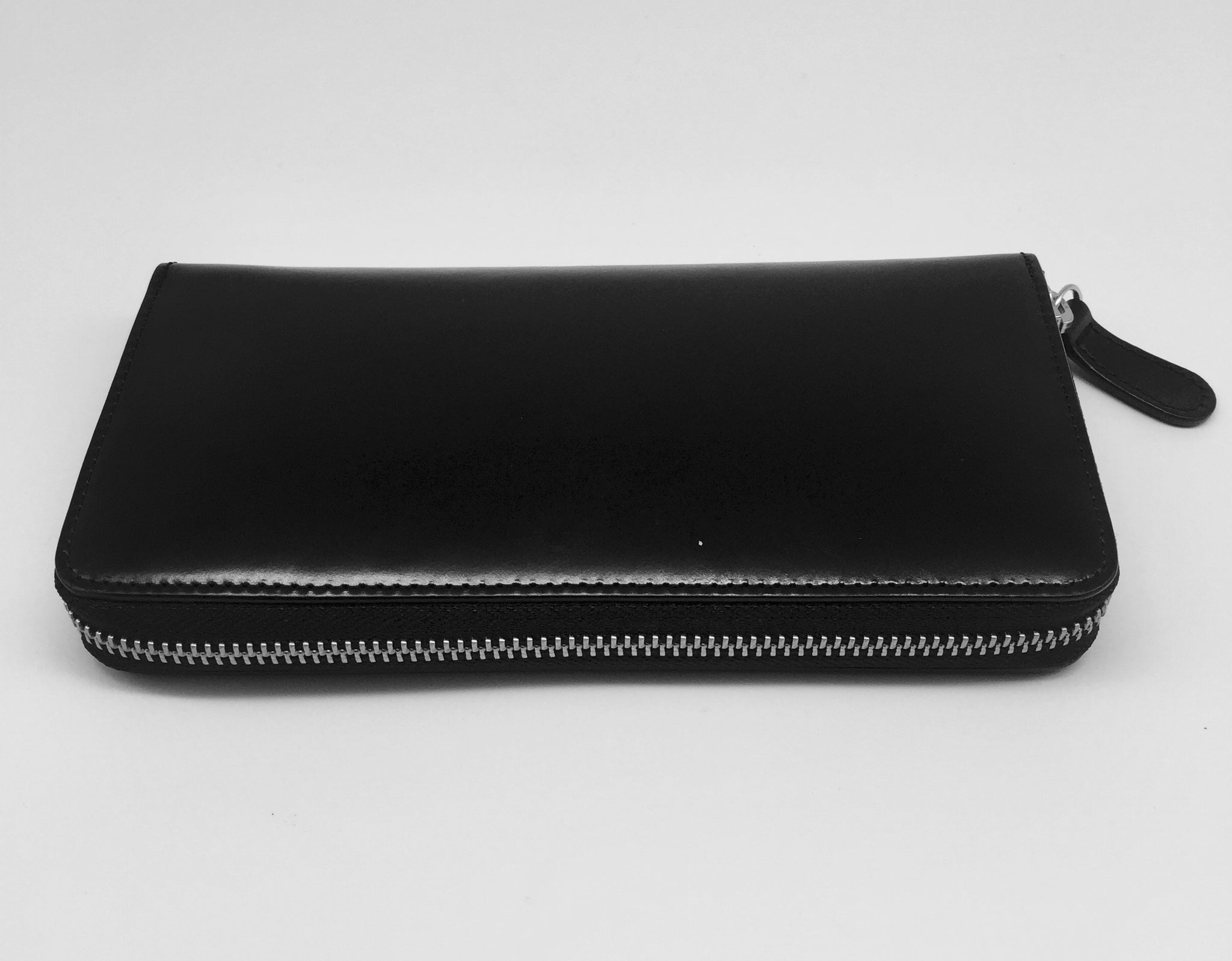 Leather Ladies Wallet - Black