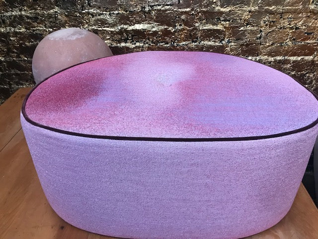Ottoman - Large Pebble - Dream Pinkish