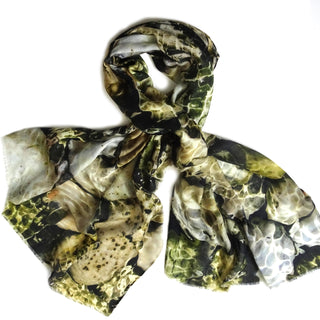 Ithaca Greece Scarf, Green