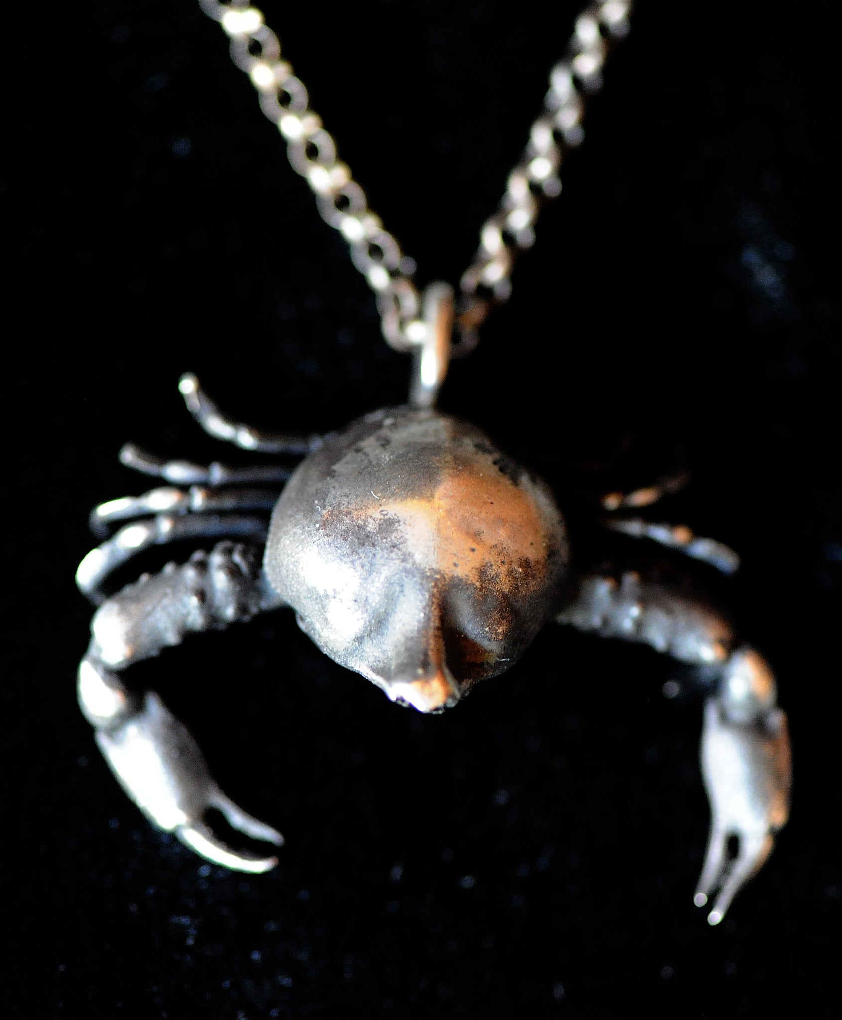 Large Crab Necklace