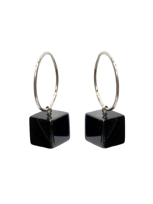"""DARK CUBE"" Earrings"