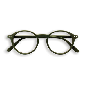 Reading Glasses, D - khaki green