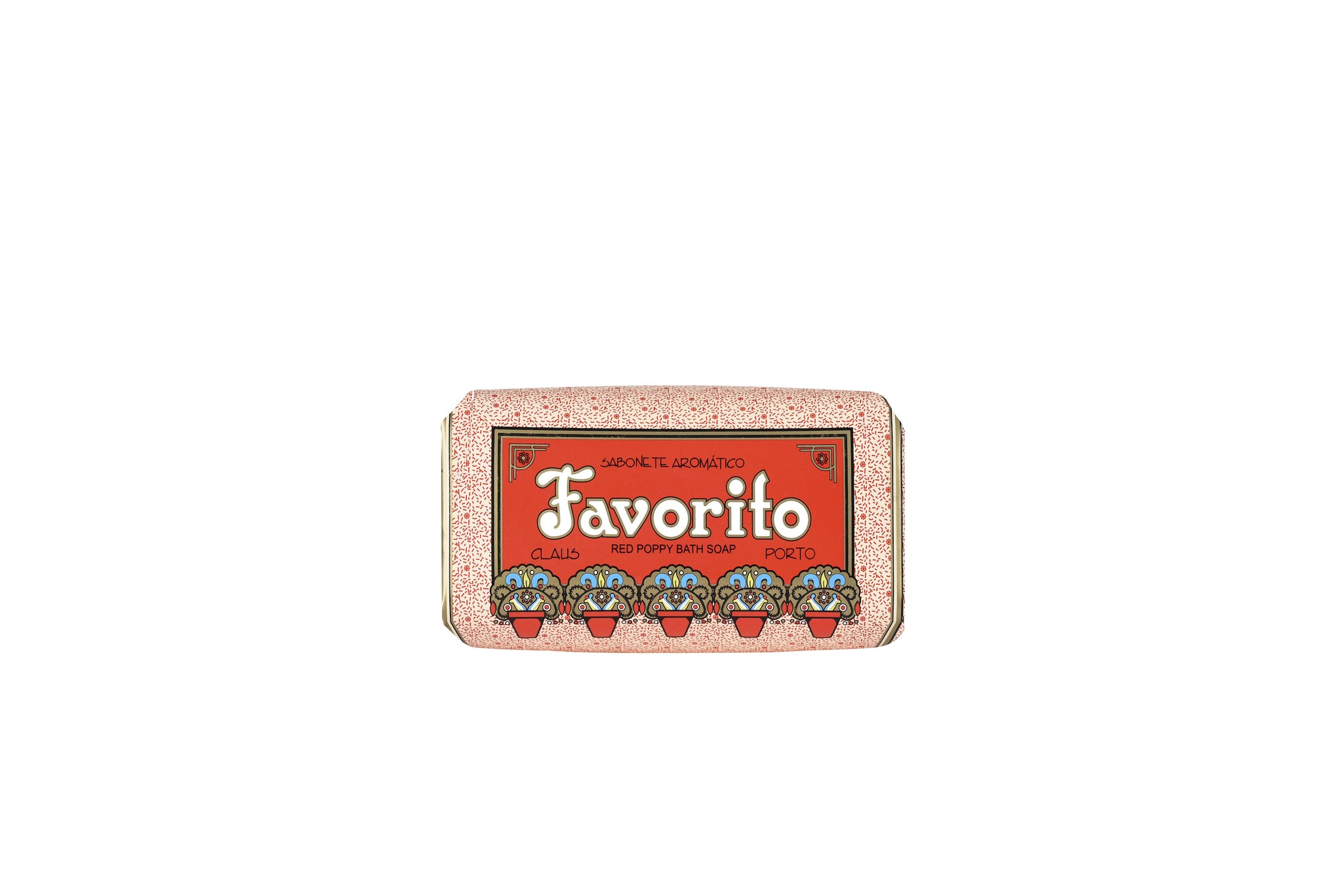 Favorito - Red Poppy, Deco Soap Bar, 150g