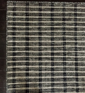 Tartan Wool & Cotton Rug