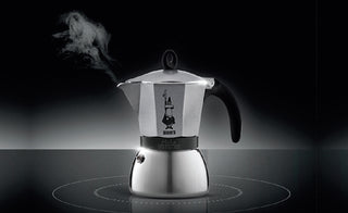 Moka Induction - Anthracite, 6 cup