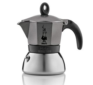 Moka Induction - Anthracite, 3 cup
