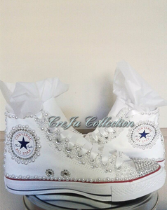 WEDDING CONVERSE, LESS STYLE, PEARL