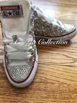 Pearl Converse, Wedding Converse, Bling Converse, Diamonds and Pearls Converse, Pearl All Stars, Wedding Chucks
