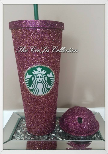 58e0640360f Starbucks Bling Cup – The Cre'Ja Collection
