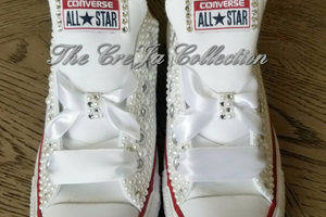 Custom Bling Converse Size 7
