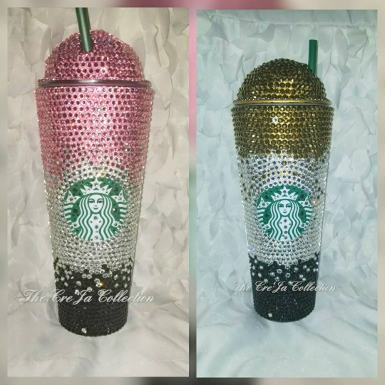 Bling Starbucks Cup