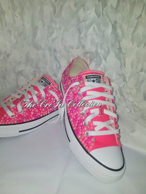 Pink Pearl Converse