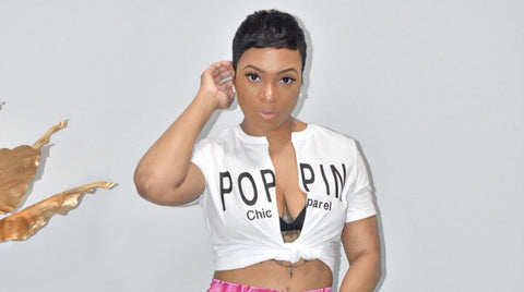 POPPIN Chic Apparel Tee