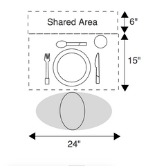 Rectangular Table Size Guide – Candidate Wood