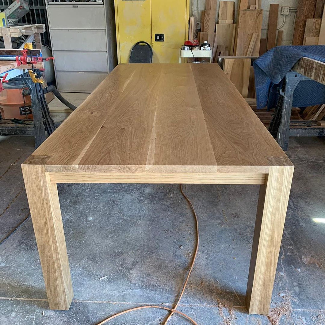 Dining Table With Flush Legs