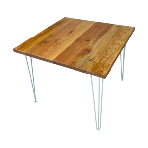 Square Reclaimed Wood Table