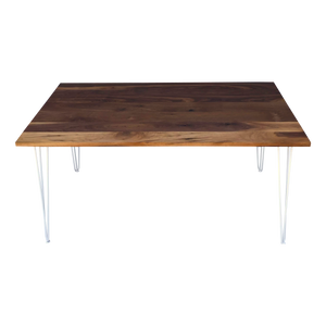 Walnut Table with Hairpin Legs