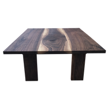 Load image into Gallery viewer, Modern Walnut Coffee Table