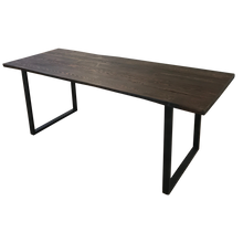 Load image into Gallery viewer, Reclaimed Wood Table with U-Shaped Legs