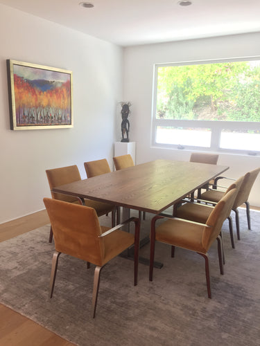 Modern Oak Dining Table