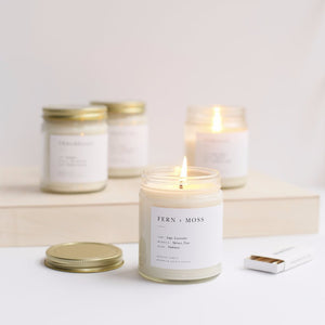 Sweet Fig Minimalist Jar Candles