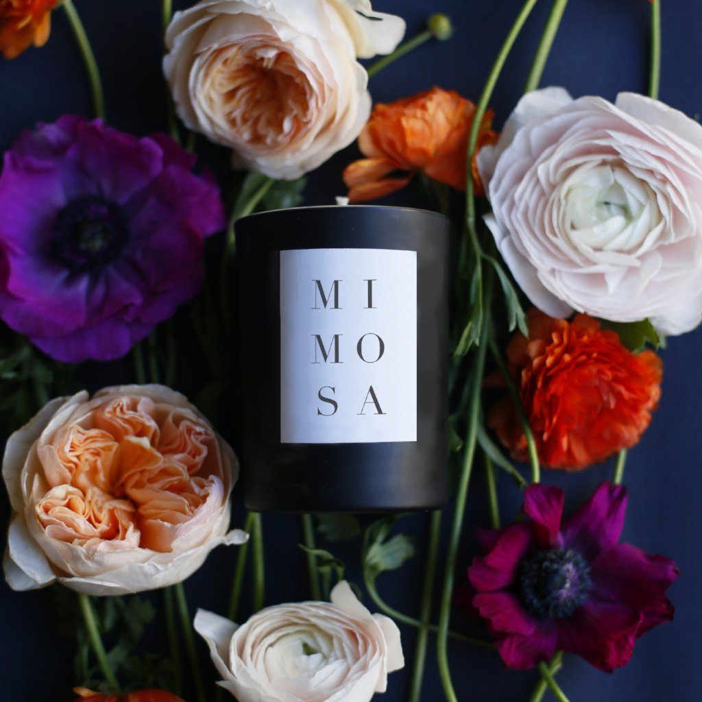 Mimosa Scent Candle
