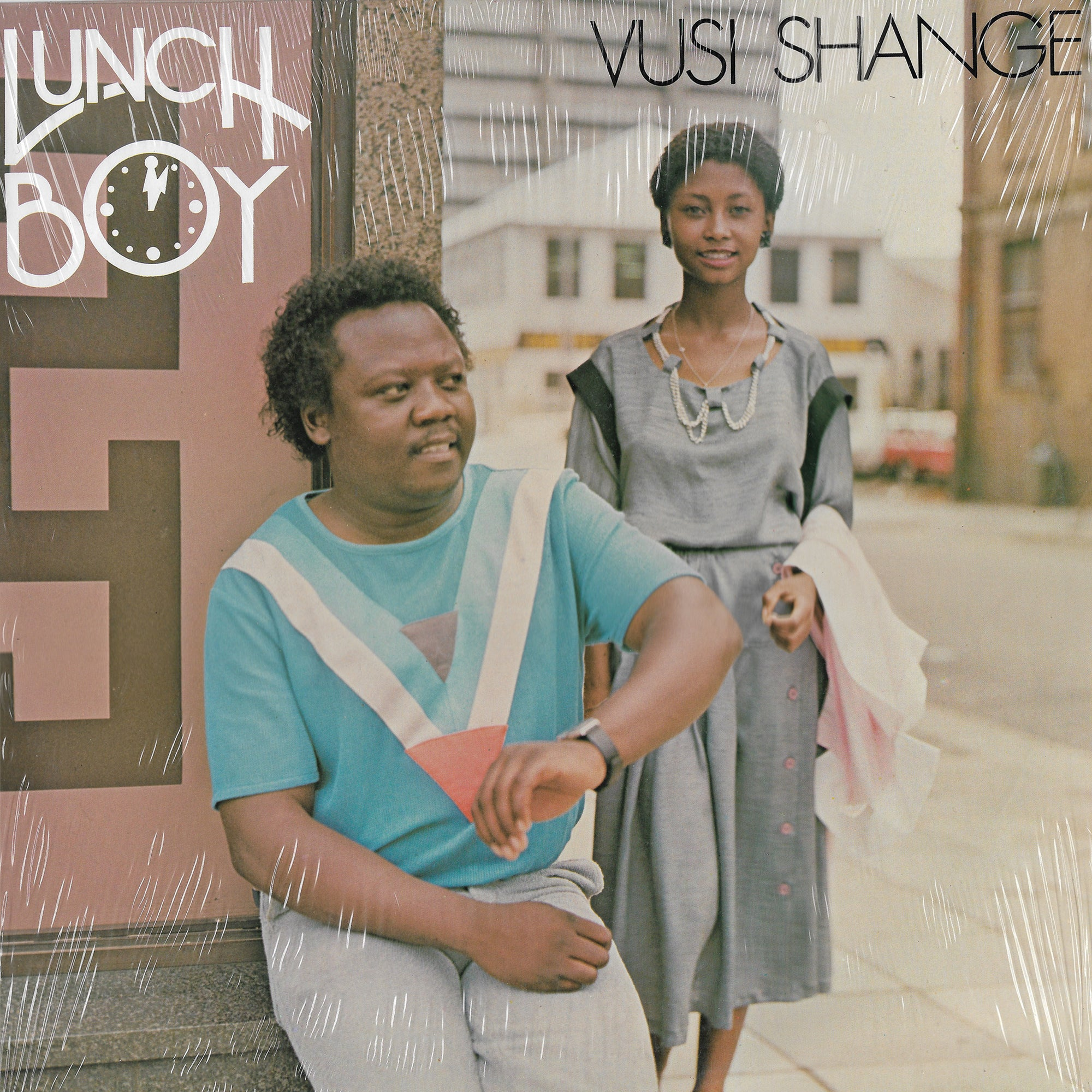 Vusi Shange - Lunch Boy