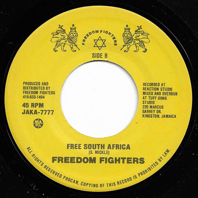 Freedom Fighters - Rasta Soldiers / Free South Africa
