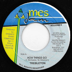 Trebleton - How Things Go / Sky Dome Version