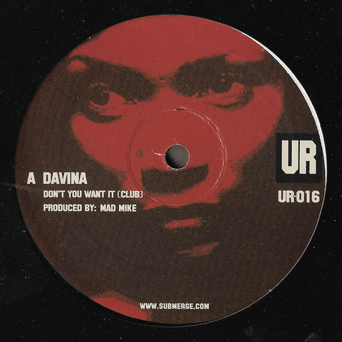 Davina - Don't You Want It