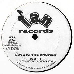 Mandella - Love Is The Answer