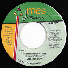 Destry Don ‎– Sweeter Than Honey / Sky Dome Version