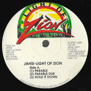 Jahsi - Light Of Zion