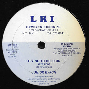 Junior Byron - Trying To Hold On