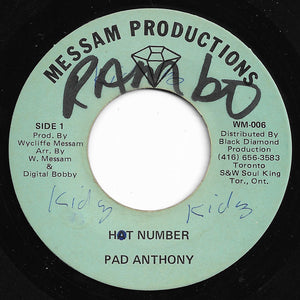 Pad Anthony - Hot Number