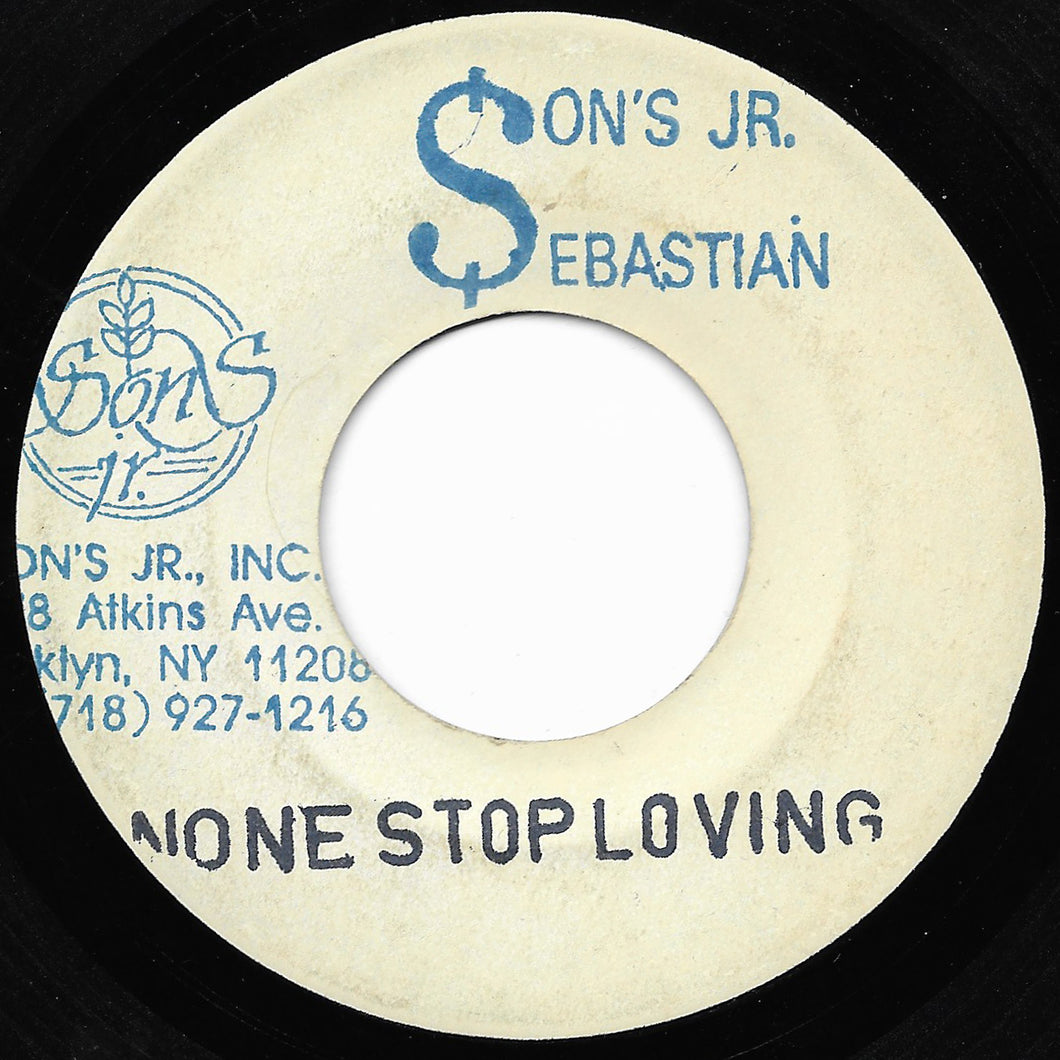 Sons Jr. Sebastian - None Stop Loving