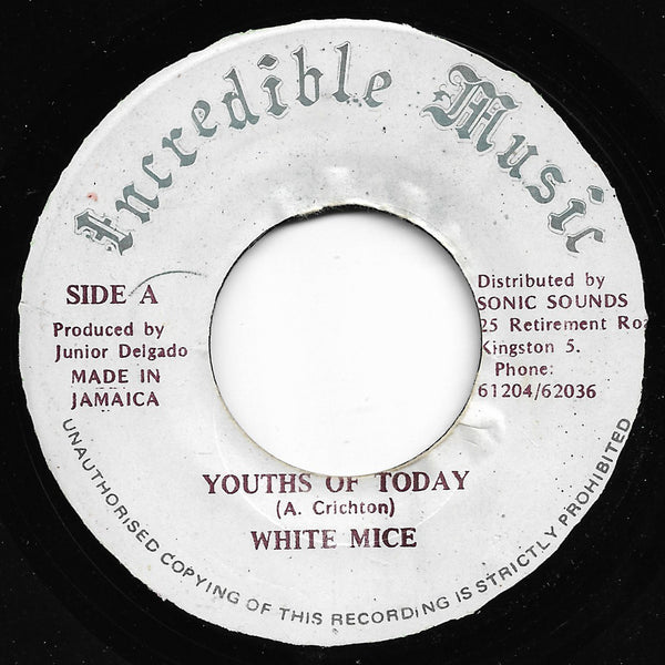 White Mice - Youths Of Today