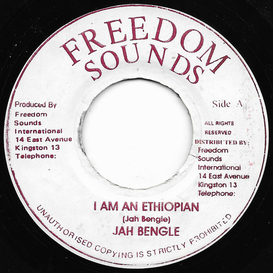 Jah Bengle - I Am An Ethiopian