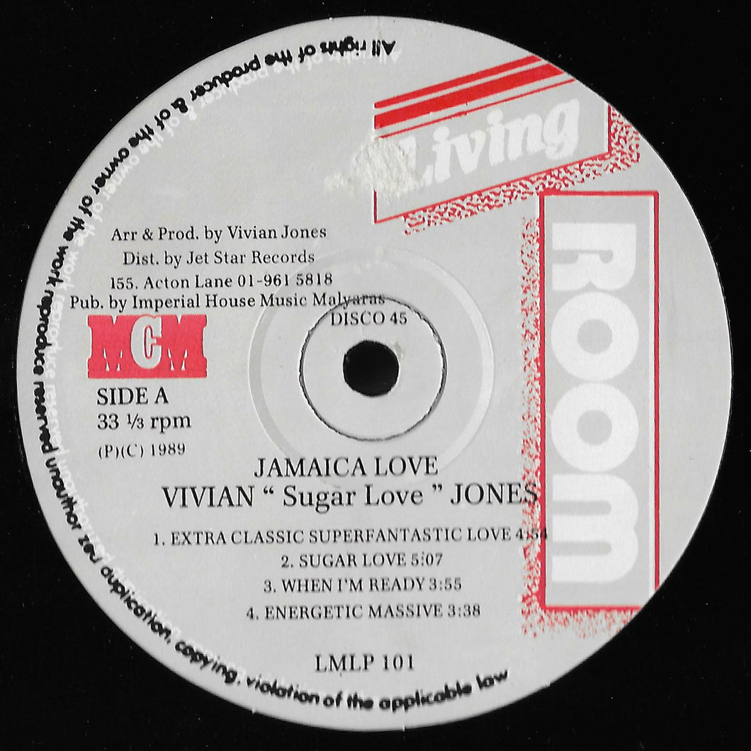 Vivian Sugar Love Jones - Jamaica Love xxx (No Sleeve)