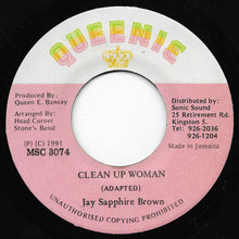 Jay Sapphire Brown - Clean Up Woman