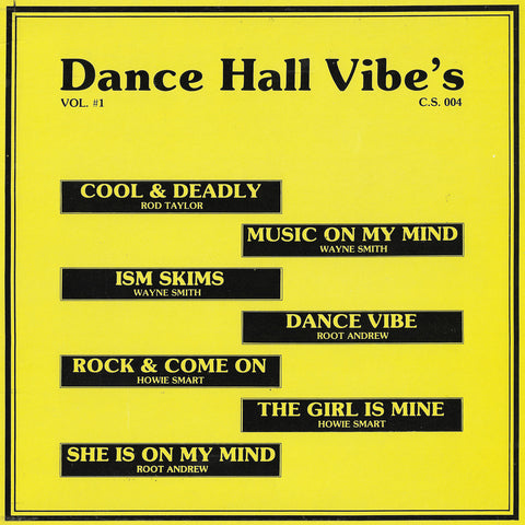 Dance Hall Vibe's Vol.#1