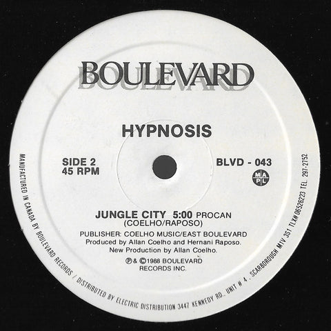 Hypnosis - Bang, Bang, Boogie / Jungle City