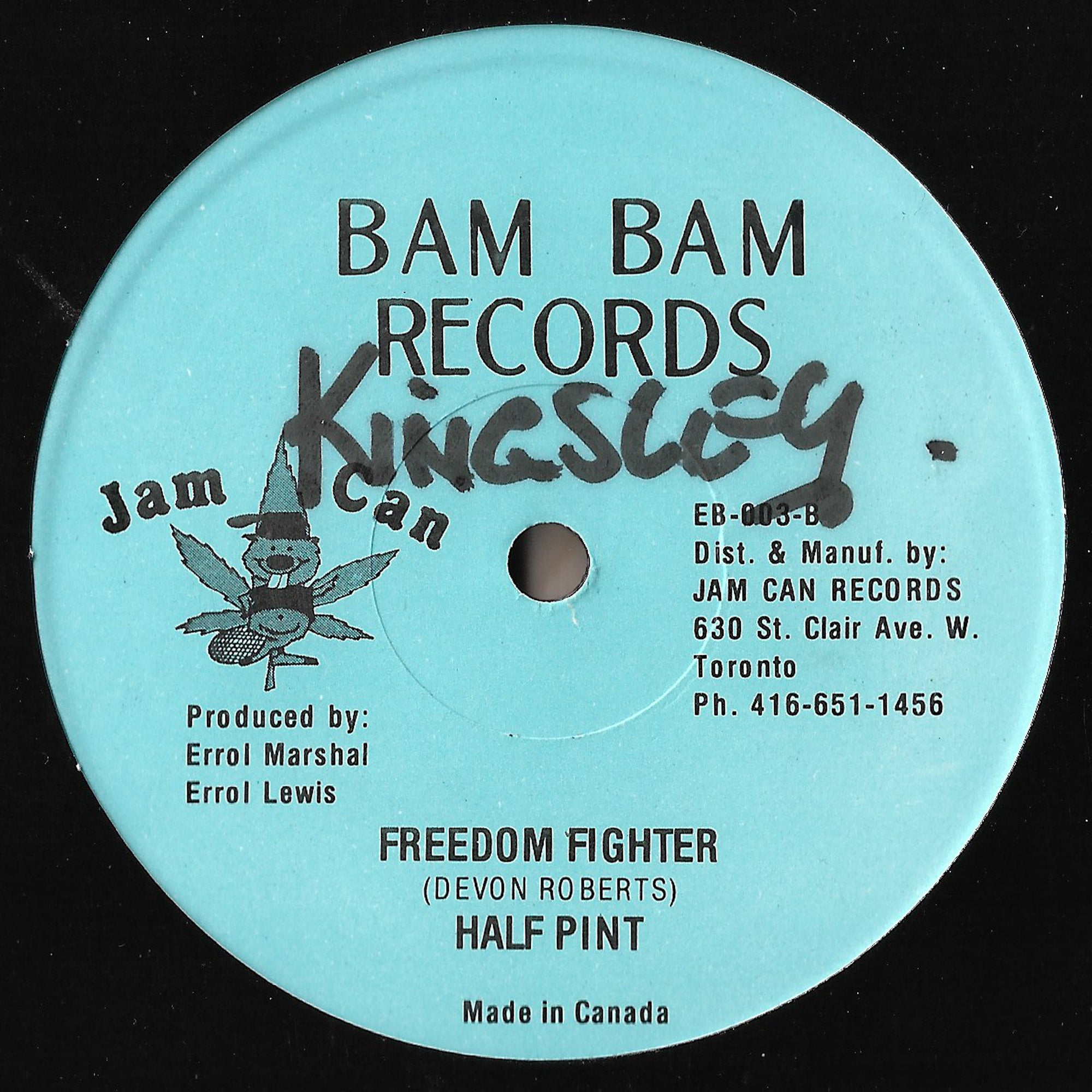Half Pint - Winsome / Freedom Fighter