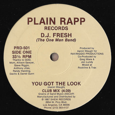 D.J. Fresh (The One Man Band) - You Got The Look
